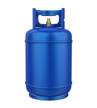 Gas Cylinder Isolated