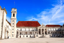 Entrance Of Coimbra University...