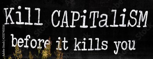 Valokuva  Kill capitalism