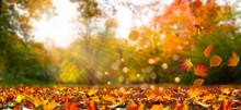 Idyllische Herbstlandschaft