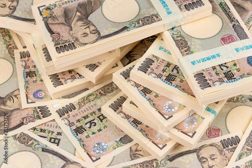 Fototapeta 札束 1万円札 財産イメージ obraz