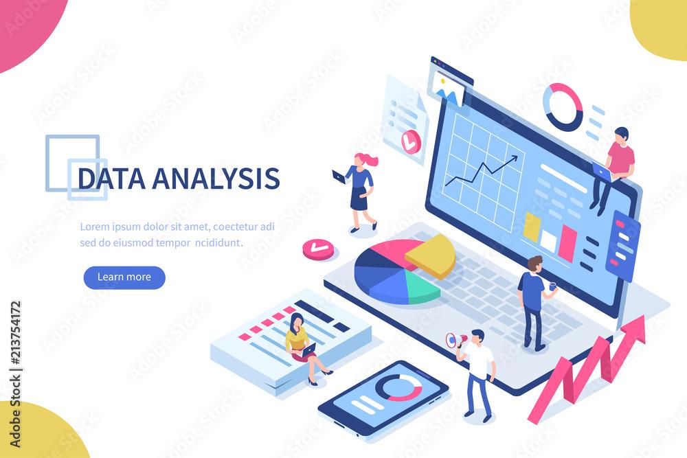 Fototapeta data analysis