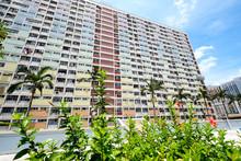 Old Public Housing In Hong Kong