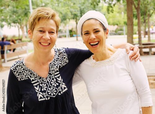 Fotografia  Portrait attarctive mature women smiling