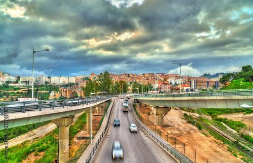 Poster Algérie Traffic interchange in Constantine, Algeria