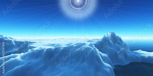 Fotografie, Obraz  ice berg on see