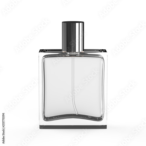 Fototapeta Perfume Bottle on white Background obraz na płótnie