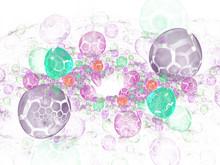 Translucent, Bubbles Texture W...