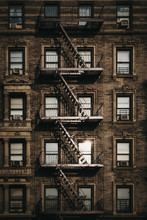 Facade Of A Typical New York B...