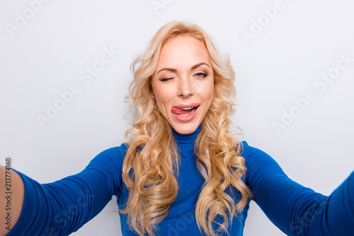 sexy tongue out