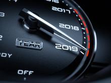 2019 Year Car Speedometer