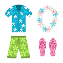 Hawaiian Shirt, Beach Summer S...