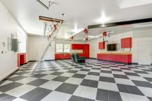 Spacious Modern Garage Interior