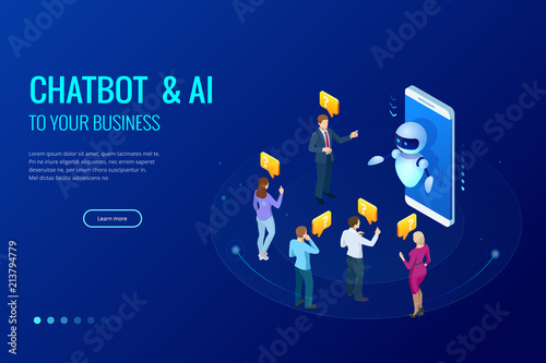 Isometric artificial intelligence  Chat bot and future