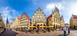 Leinwandbild Motiv Prinzipalmarkt, Münster