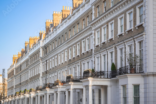 Photo  Terrace houses around Chelsea in London