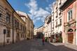 Street in Krakow Old Town