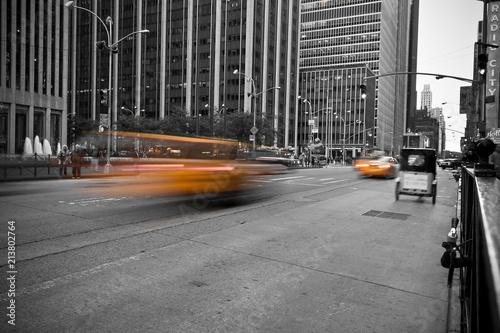Foto op Plexiglas New York TAXI Cab in new york