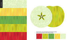 Food Patterns, Flat Vector Ill...