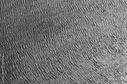 Aerial View Of Mid River Waves. Tablou Canvas