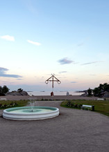 Casino Beach In Hanko, A Popular Finnish Resort Town Which Includes The Southernmost Point Of The Country