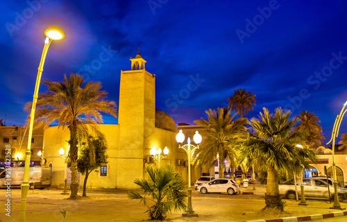 Poster Algérie Ataleb Baba Sassi Mosque in Touggourt, Algeria