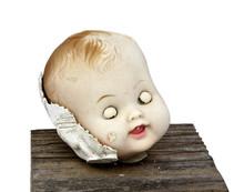 Weird And Disturbing Doll Head...