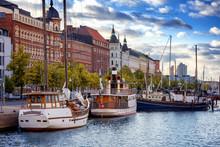 Beautiful Cityscape, Helsinki,...