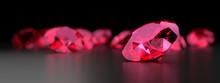 Ruby Gem Diamond Dark Reflecti...