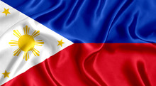Flag Of Philippines Silk