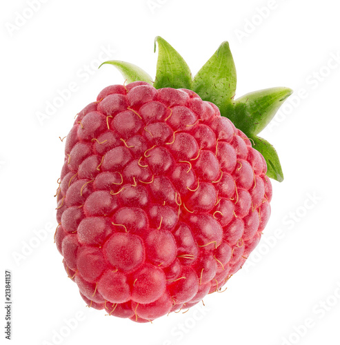 raspberry isolated on a white background