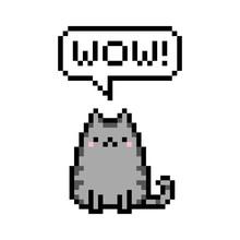 Cute Kitten Domestic Pet Pixel...