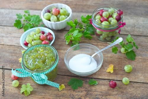 Stachelbeeren-Marmelade