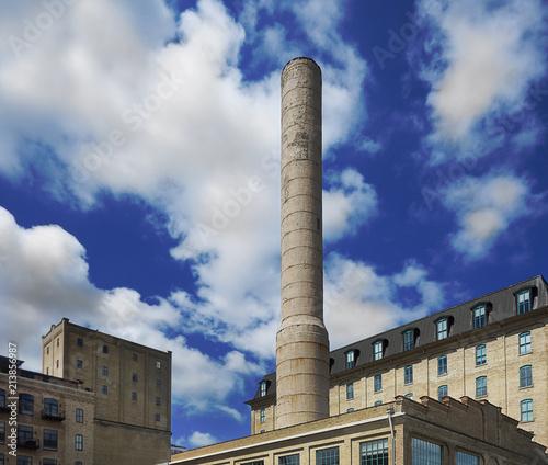 Foto op Canvas Amerikaanse Plekken Minneapolis Riverfront District
