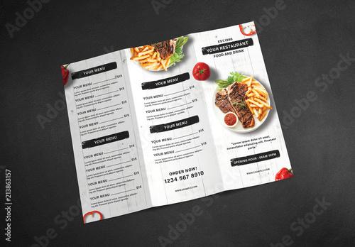 Restaurant Brochure Template from as2.ftcdn.net