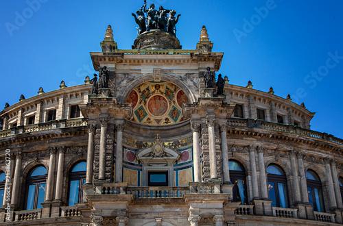 Spoed Foto op Canvas Theater Semperoper Dresden