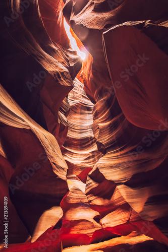 Fotografía Upper Antelope Canyon on Navajo land near Page, Arizona, USA