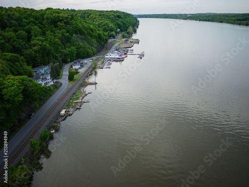 Juliste  Wide view over the Hudson