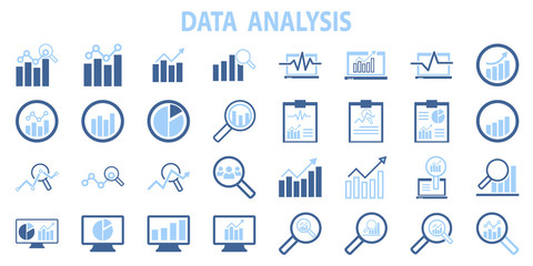 Analysis chart data growth increase line seo icon vector illustration. marketing, research, seo, strategy