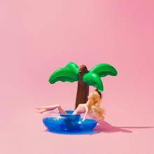 Tropical Palm Inflatable Toy W...