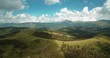Aerial, Pyrenees Mountainous Landscapes, Spain - graded Version