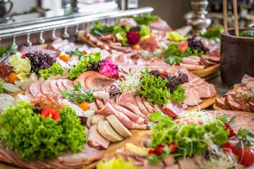 Wiejski stół - catering
