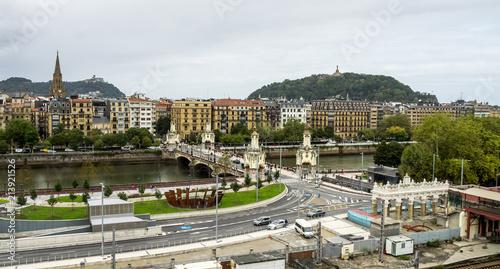 Tela Spanien - Baskenland - Donostia - San Sebastian - Marina Cristina Zubia