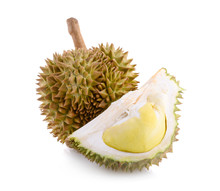 King Of Fruits, Durian Isolate...
