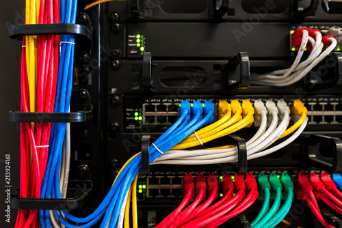 Photo network cable wire