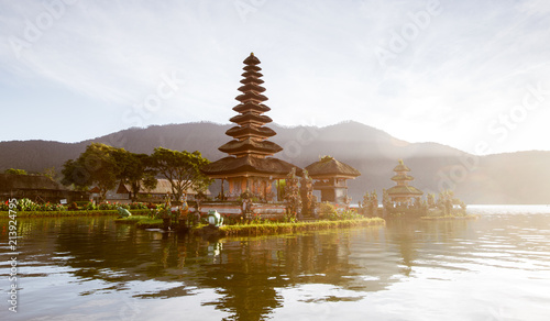 Spoed Foto op Canvas Bali view of a lake at bali indonesia