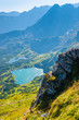 clean mountain lakes in the Tatras, Poland