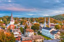 Montpelier, Vermont, USA Skyline