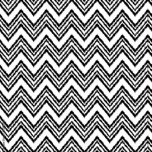 czarny-i-bialy-ikat-ornamentu-geometrycznej-szewron-tkaniny-bezszwowy-wzor-we