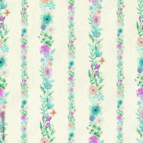 rocznika-bezszwowy-wzor-z-kwiatu-paskow-ornamentem-na-bezowego-papieru-tle-ilustracja-olowki-akwarela-recznie-rysowane